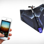 iPhone Powered Paper Airplane